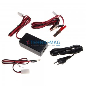 Incarcator baterie 12v, 4-14ah