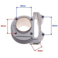 Set motor scuter 4T Gy6 80cc (ceramic)