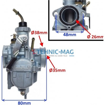 Carburator Yamaha YBR125cc