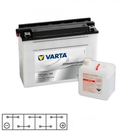 Baterie moto 12v 16ah Varta