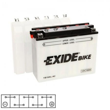 Baterie moto 12v 16ah Exide
